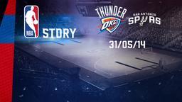 Oklahoma City - San Antonio 31/05/14. Playoff Conference. Finals Gara 6