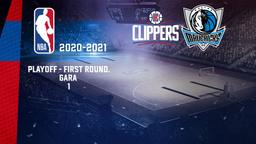 LA Clippers - Dallas. Playoff - First Round. Gara 1