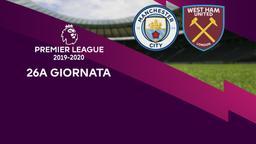 Man City - West Ham United. 26a g.