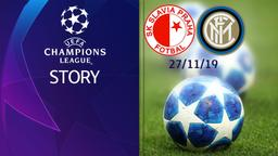 Slavia Praga - Inter 27/11/19