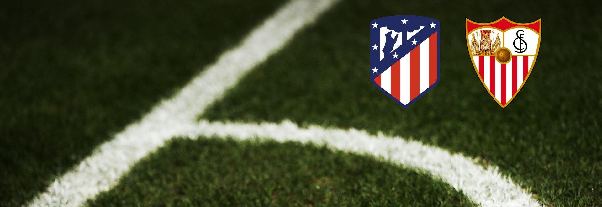 Atletico Madrid - Siviglia. 1a g.