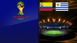 Colombia - Uruguay. Ottavi di finale