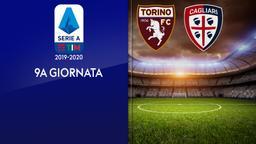 Torino - Cagliari. 9a g.