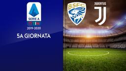 Brescia - Juventus. 5a g.