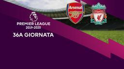 Arsenal - Liverpool. 36a g.
