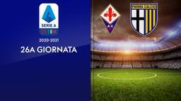 Fiorentina - Parma. 26a g.