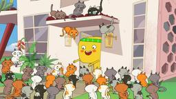 Cupcake, Dino e... il gatto