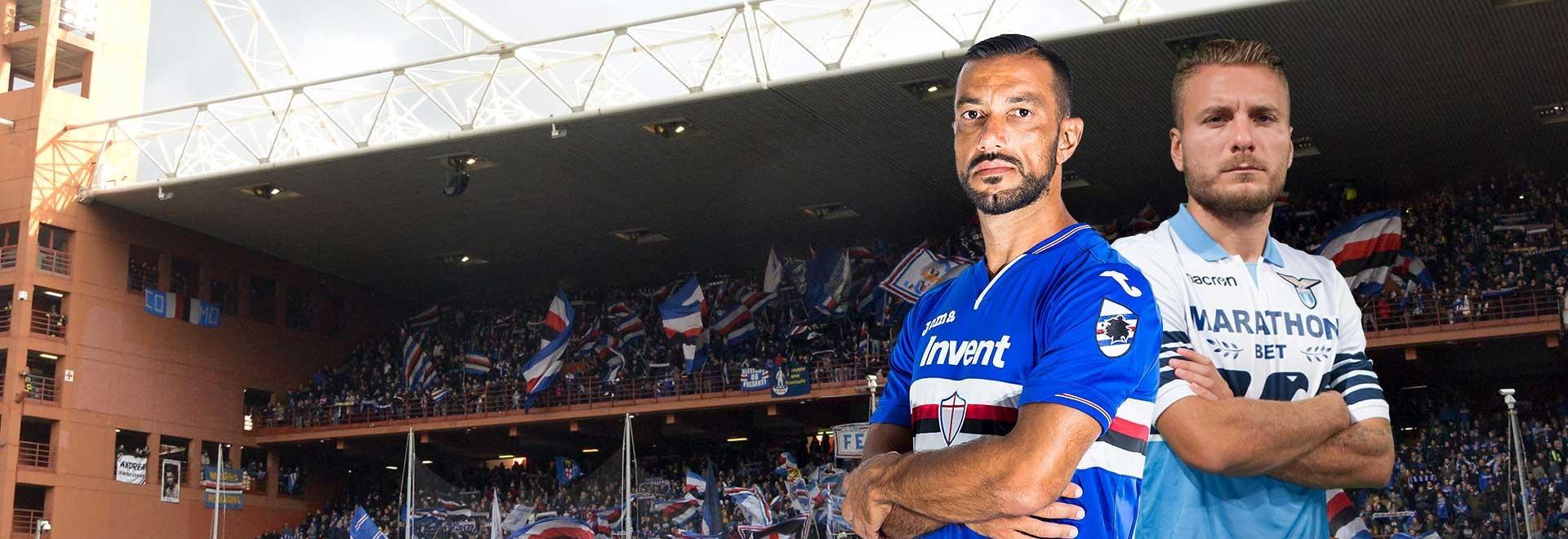 Sampdoria - Lazio. 34a g.