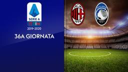 Milan - Atalanta. 36a g.