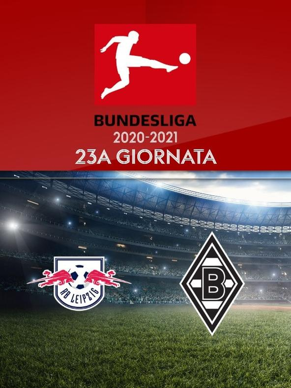 Lipsia - Borussia Moenchengladbach. 23a g.