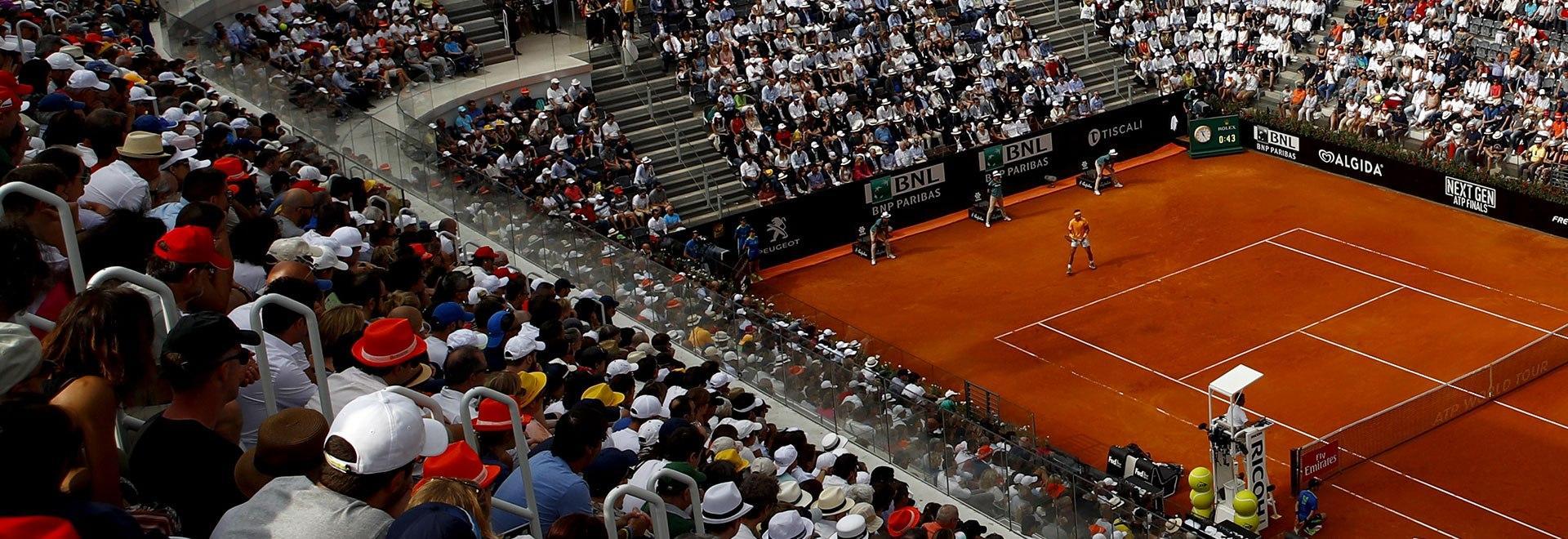Volandri - Federer. Ottavi