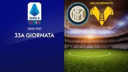Inter - Verona. 33a g.