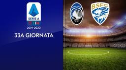 Atalanta - Brescia. 33a g.