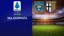 Lecce - Parma. 38a g.