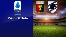 Genoa - Sampdoria. 25a g.