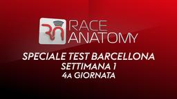 Speciale Test Barcellona. 1a sett. 4a g.