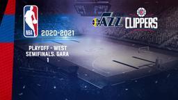 Utah - LA Clippers. Playoff - West Semifinals. Gara 1
