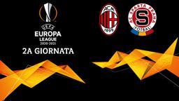Milan - Sparta Praga. 2a g.