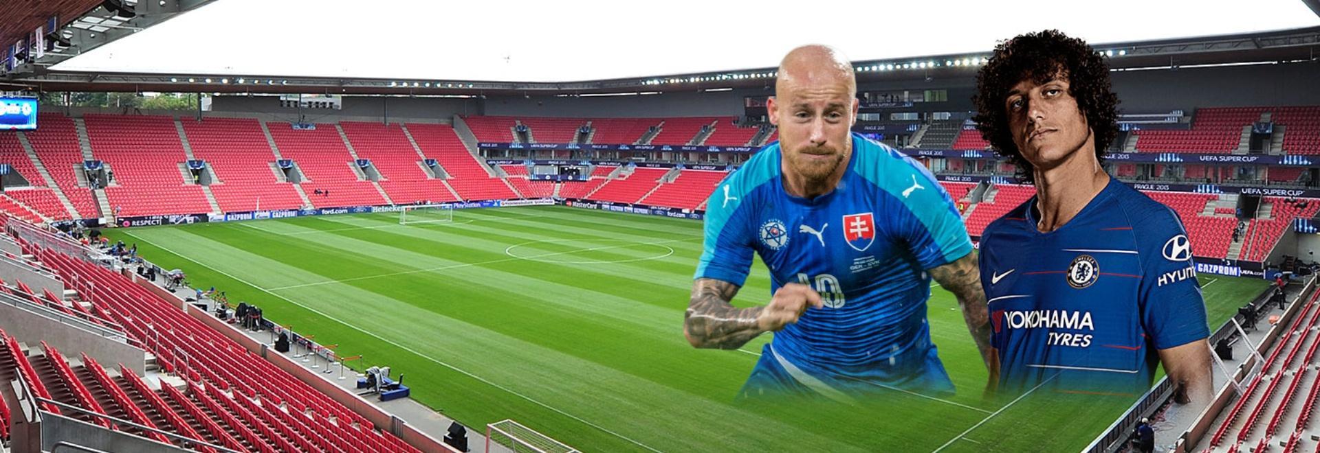Slavia Praga - Chelsea. Quarti. Andata