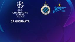 Club Brugge - Zenit. 5a g.