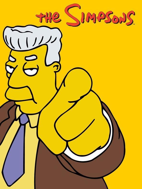 Homer mani di forbice