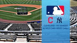 Cleveland - NY Yankees. AL Wild Card Series Gara 1