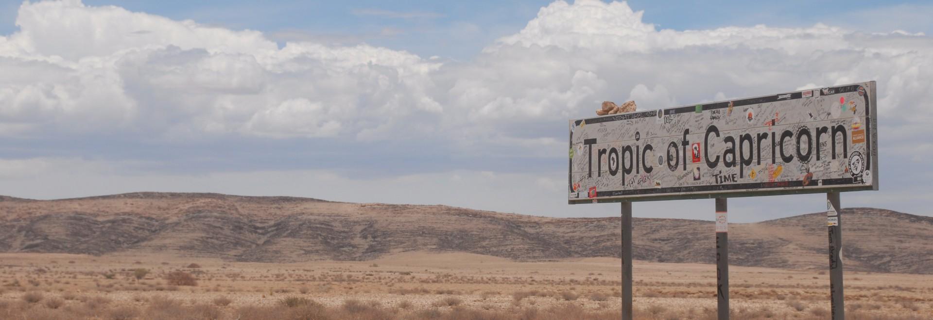 Nel deserto del Kalahari