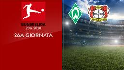 Werder Brema - Bayer L. 26a g.