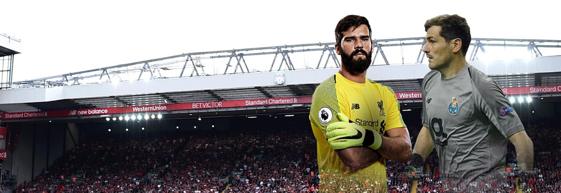 Liverpool - Porto. Quarti. Andata