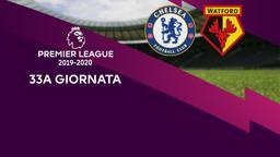 Chelsea - Watford. 33a g.