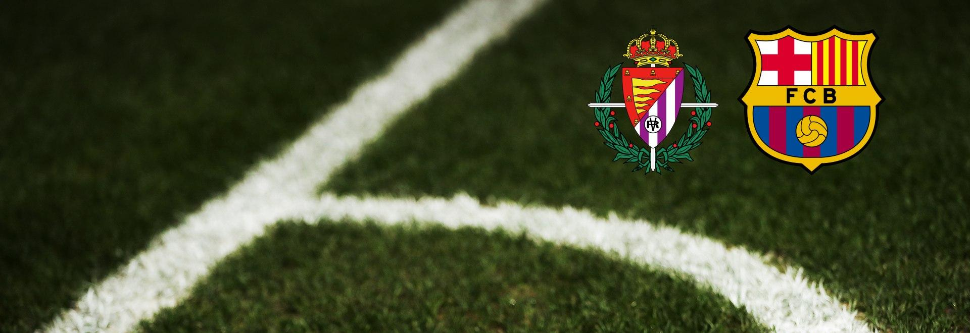 Real Valladolid - Barcelona. 15a g.