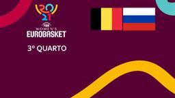 Belgio - Russia. 3° Quarto