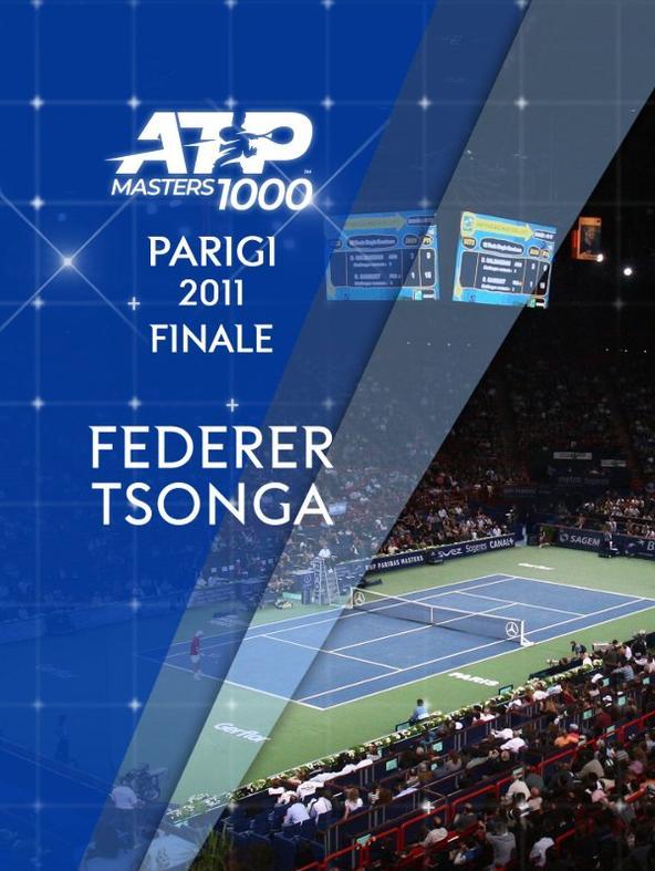 Federer - Tsonga 13/11/11. Finale