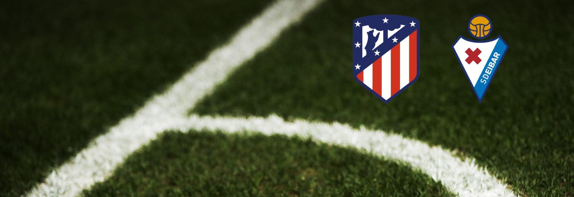 Atletico Madrid - Eibar. 33a g.