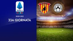 Benevento - Udinese. 33a g.