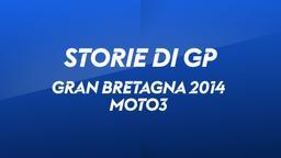 G. Bretagna, Silverstone 2014. Moto3