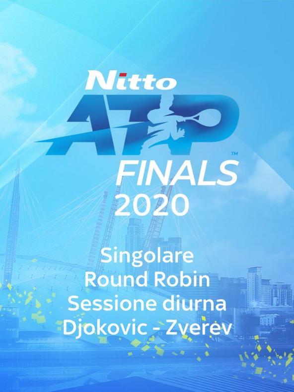 Djokovic - Zverev. Singolare. Round Robin. Sessione diurna
