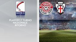 Sudtirol - Pro Vercelli. Playoff 1° turno Nazionale Ritorno