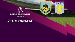 Burnley - Aston Villa. 20a g.