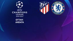 Atletico Madrid - Chelsea. Ottavi Andata