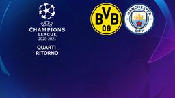 Borussia Dortmund - Manchester City. Quarti Ritorno
