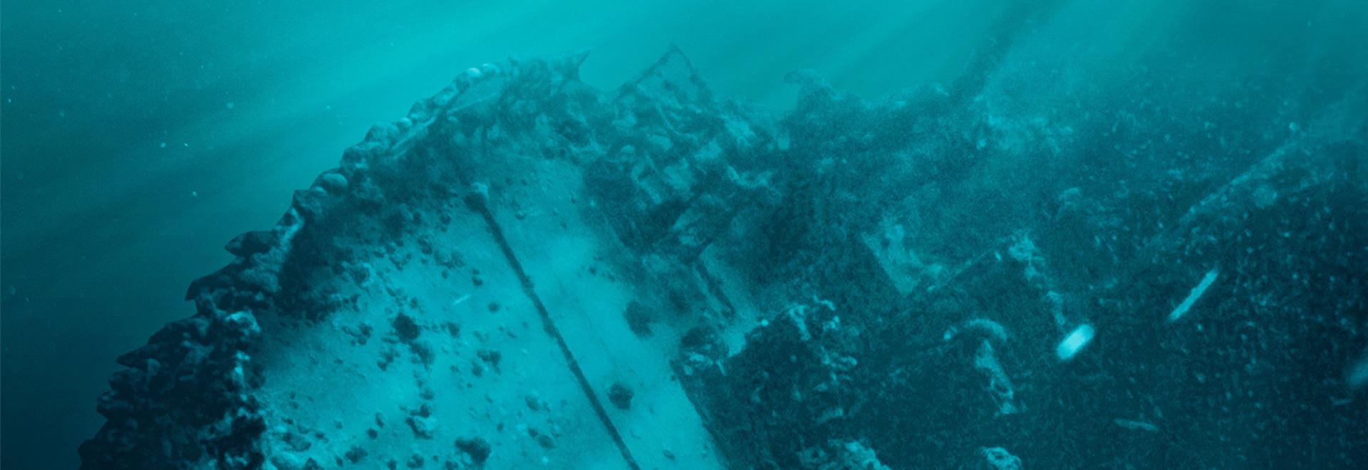 Il ritrovamento del Lusitania