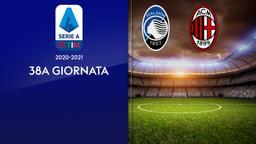 Atalanta - Milan. 38a g.