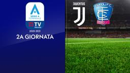 Juventus - Empoli. 2a g.
