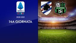 Sampdoria - Sassuolo. 14a g.