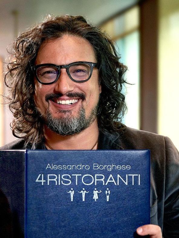 Alessandro Borghese - 4 ristoranti - 1^TV