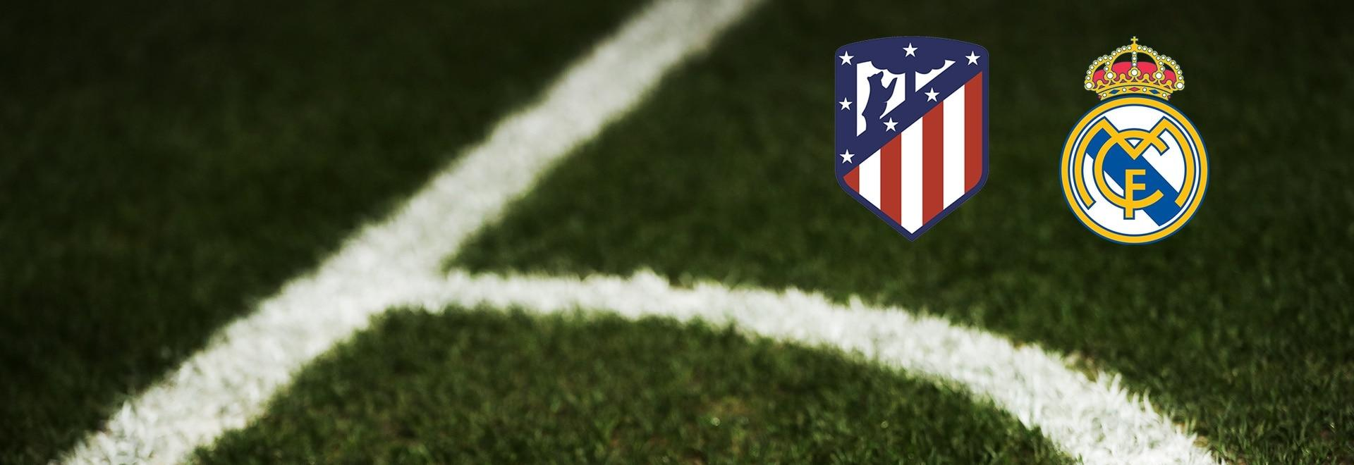 Atletico Madrid - Real Madrid. 7a g.