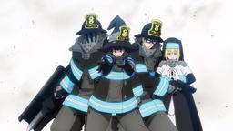 La formazione dell'8a Brigata della Fire Force