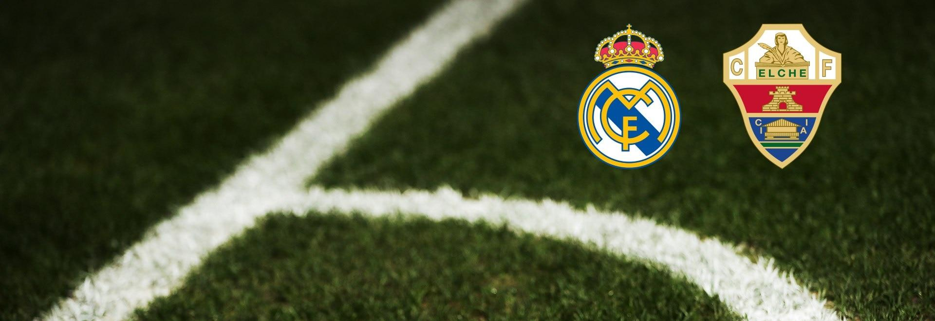 Real Madrid - Elche. 27a g.