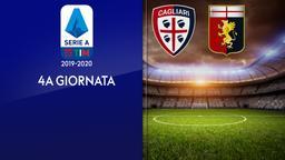 Cagliari - Genoa. 4a g.